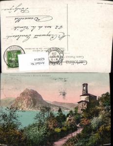 620014,Chiesa di Castagnola e Monte S. Salvatore Castagnola-Cassarate-Ruvigliana Lugano