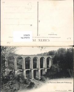 620021,Le Pont de la Glane pres Fribourg Freiburg Viadukt Villars-sur-Glane