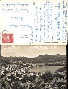 620444,Foto Ak Lugano Panorama