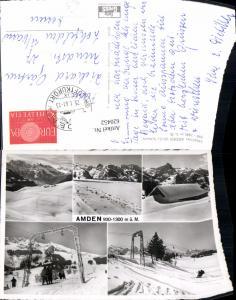 620452,Mehrbild Ak Amden Skigebiet Wintersport Skilift