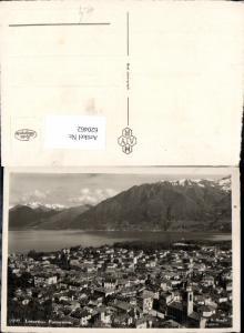 620462,Foto Ak Locarno Panorama