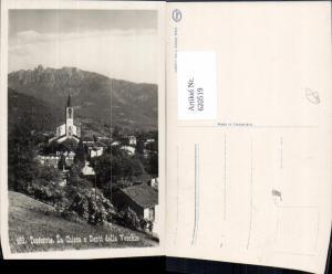 620519,Foto Ak Tesserete La Chiesa e Denti della Vecchia