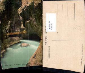 620526,Vernayaz Gorges du Trient L Eglise