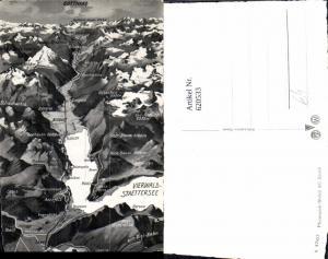 620533,Lagekarte Vierwaldstättersee Brunnen Ingenbohl Gersau