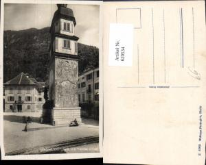 620534,Altdorf Dorfplatz m. Telldenkmal Denkmal