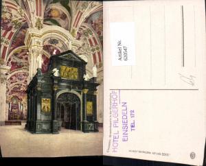 620547,Einsiedeln Gnadenkapelle in d. Klosterkirche Innenansicht
