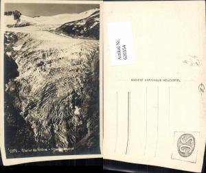 620554,Foto Ak Glacier du Rhone Rhonegletscher Obergoms Gletscher