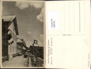 620576,Foto Ak Kurhaus Weissenstein ob Solothurn Sonnenterrasse