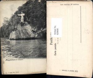 620600,Meggenhorn b. Luzern Statue Ufer