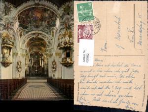 620602,Einsiedeln Stiftskirche Innenansicht