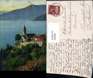 620606,Ronco sopra Ascona La Chiesa e veduta sul Lago Maggiore