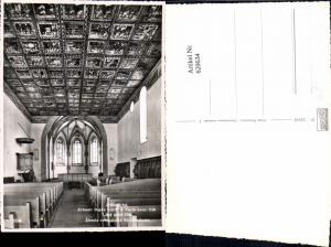 620634,Foto Ak Zillis-Reischen Zillis Kirche Innenansicht m. Decke u. Schiff