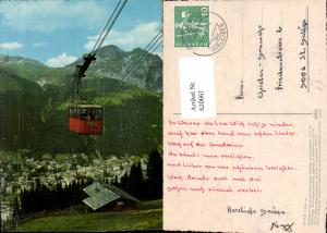 620661,Davos Brämabüel-Jakobshorn-Bahn geg. Schatzalp u. Schiahörner Seilbahn Gondel