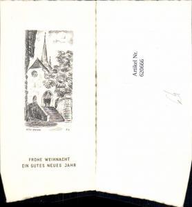 620666,Künstlerkarte A. K. Biel Bienne Frohe Weihnacht Neujahr