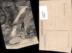 620668,Ormont-Dessus Gorges du Torrent Une Cascade Wasserfall