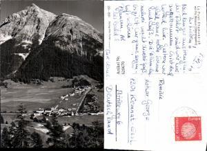 620670,Foto Ak La Punt-Chamues-ch m. Piz Mezaun Oberengadin