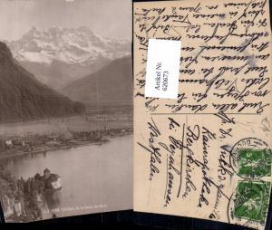 620673,Veytaux Chillon et la Dent du Midi
