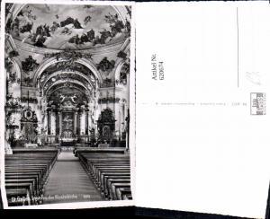 620674,Foto Ak St Gallen Inneres d. Klosterkirche Kirche Innenansicht