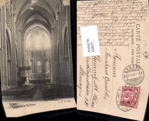 620675,Geneve Genf Cathedrale de St Pierre Innenansicht