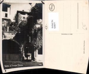620677,Foto Ak Ticinese Losone Motivo di Fontana