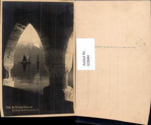 620684,Au Temple National De Glion et le Grammont Segelboote Montreux