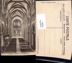 620685,Lausanne Interieur de la Cathedrale Kathedrale