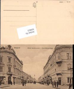 620825,Belgrad Belgrade Beograd Serbia Yugoslavia Fürst Michael Gasse