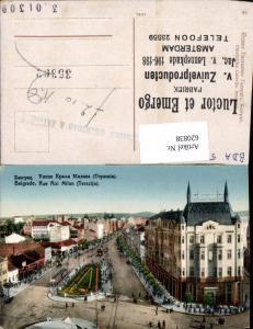 620838,Belgrad Belgrade Beograd Serbia Yugoslavia Rue Roi Milan Terazija Hotel