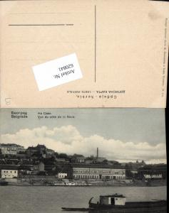 620841,Belgrad Belgrade Beograd Serbia Yugoslavia Vue de cote de Save