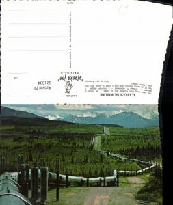 621884,Alaskas Oil Pipeline from Prudhoe Bay to Valdez Ölleitung Öl Alaska