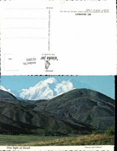 621893,Mount McKinley First Sight of Denali Alaska