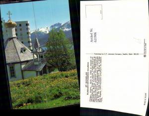 621906,Juneau St Nicholas Russian Orthodox Church Russische Kirche Alaska