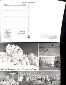 621964,Mehrbild Ak Karkonosze Schronisko PTTK Wintersport Szklarska Poreba Schreiberhau Poland
