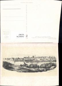 621967,Künstler Ak Franciszek Schuster Widok Warszawy Warschau od strony Wisly Poland
