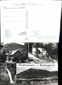 621975,Mehrbild Ak Miedzygorze DW Stoneczna Schronisko PTTK Maria Sniezna Bystrzyca Kłodzka Poland