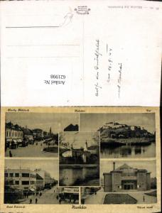 621998,Mehrbild Ak Mukatschewe Munkacs Kolostor Var Varosi mozi Ukraine