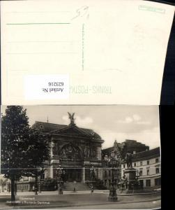 623216,Foto Ak Düsseldorf Kunsthalle u. Bismarck-Denkmal pub Trinks 5