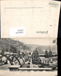 623219,Düsseldorf 1904 Kunst- u. Gartenbau-Ausstellung Englischer Garten i. Diorama