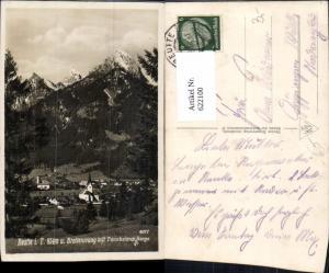 622100,Foto Ak Reutte Breitenwang m. Tannheimer Berge