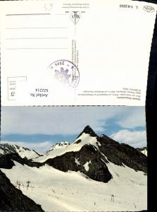 622214,Stubaier Gletscherbahn Blick v. Isidornieder Gletscherlift Neustift im Stubaital