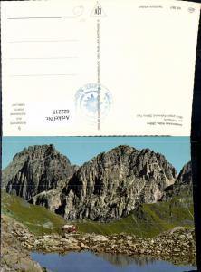 622215,Neustift im Stubaital Innsbrucker Hütter a. Pinnisjoch Blick geg. Kalkwand