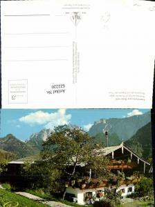 622220,Ebbs Alpenmotiv Hinterkaiserhof Kaisertal geg. Stripsenjoch Totenkirchl