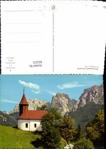 622221,Foto Ak Antoniuskapelle Kaisertal b. Kufstein Tirol