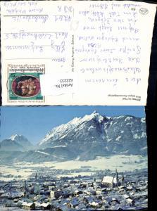 622233,Schwaz i. Tirol Blick geg. Karwendelgebirge Winteransicht