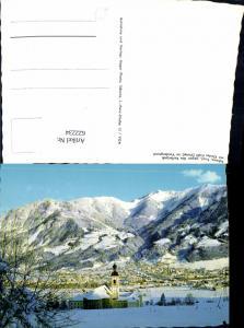 622234,Schwaz geg. d. Kellerjoch m. Kloster Ficht Vomp i. Vordergrund Winteransicht