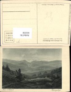 622258,Künstler Ak Caspar David Friedrich Riesengebirge Spindleruv Mlyn Spindlermühle Czech Republic