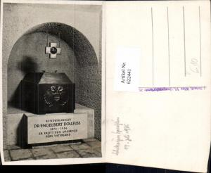 622441,Foto Ak Wien Seipel-Dollfuß-Gedächtniskirche Grab Gruft Sarg Dr. Engelbert Dollfuss pub J. Scherb