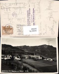 622560,Foto Ak Wallfahrtsort St Corona a. Wechsel Ansicht