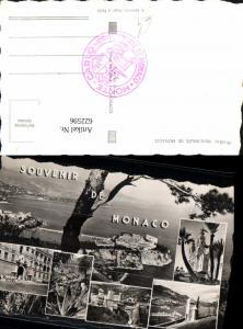 622596,Mehrbild Ak Souvenir de Monaco Principaute de Monaco