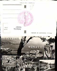 622597,Mehrbild Ak Souvenir de Monaco Principaute de Monaco